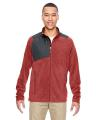 North End® Men's Excursion Trail Fabric-Block Fleece Jacket