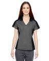 North End® Ladies' Merge Cotton Blend Mélange Polo
