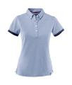 Ladies' James Harvest Larkford Heather Polo Shirt