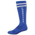 Colored High Performance Knee High Moisture Wicking Sock